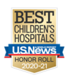 Best Childrens Hospital Honor Roll 2020-20201 Badge presented by US News